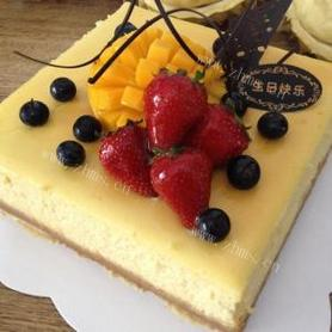 芝士轻乳酪蛋糕