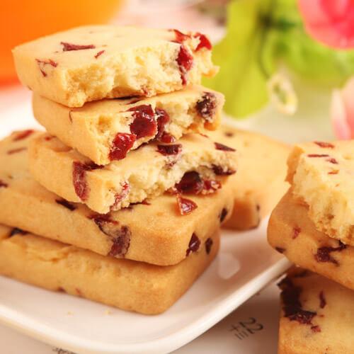 懒人最爱之蔓越莓饼干
