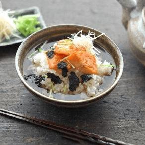 口感丰富的山葵柴鱼茶泡饭