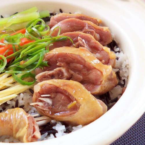 百叶白菜蒸腊鸭