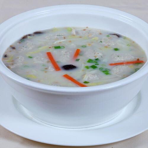 菜花豆腐鱼滑汤