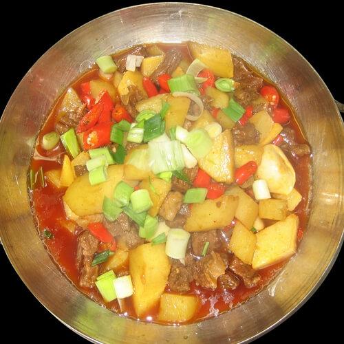 梅干菜炖土豆