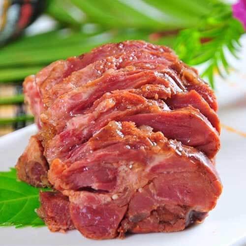 清炖骆驼肉