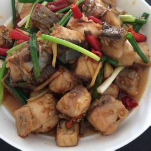 好吃的韩式辣酱焖鱼块