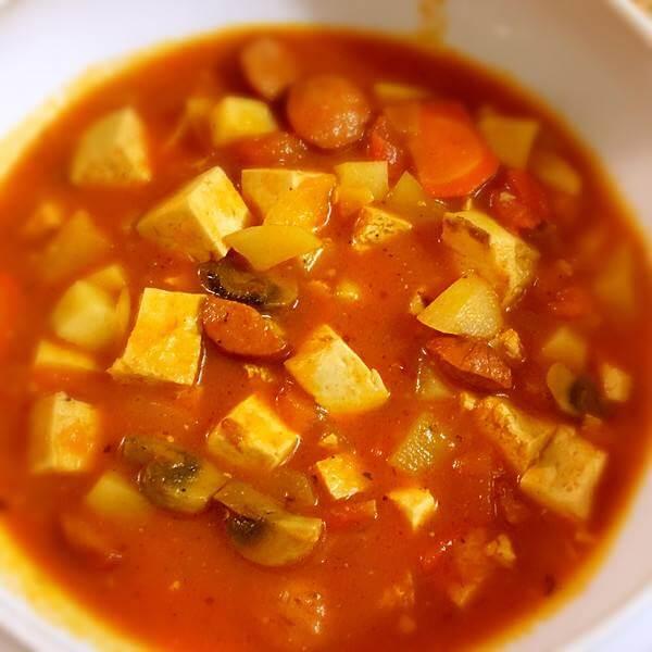豆腐西红柿汤
