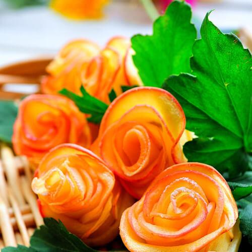 玫瑰蜂蜜卷