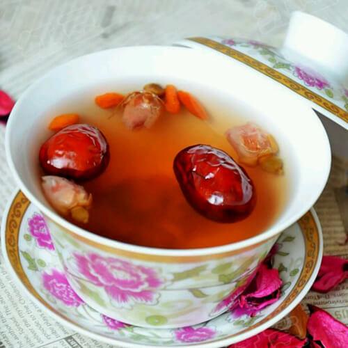 营养的纯纯的枣茶