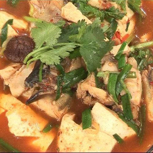 明太鱼烧豆腐