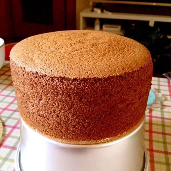 巧克力超软戚风蛋糕