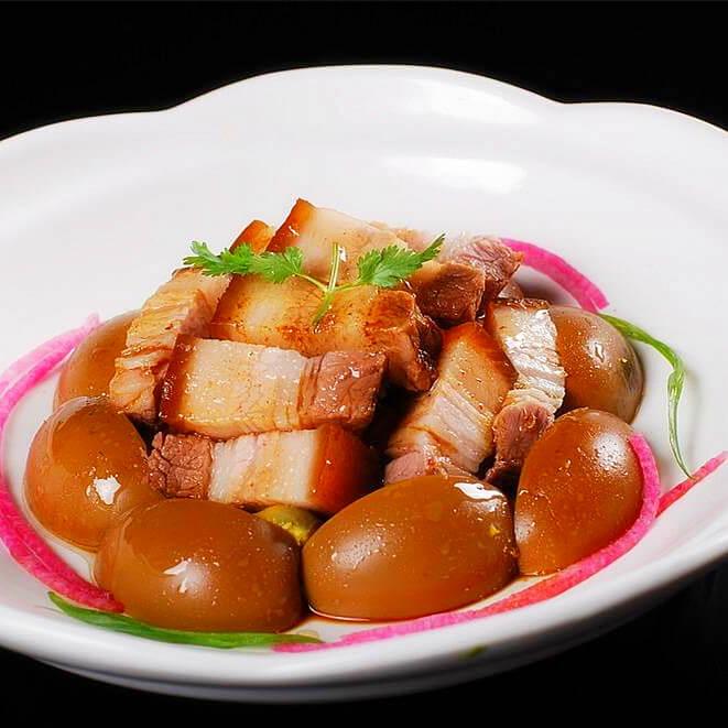台湾卤肉蛋