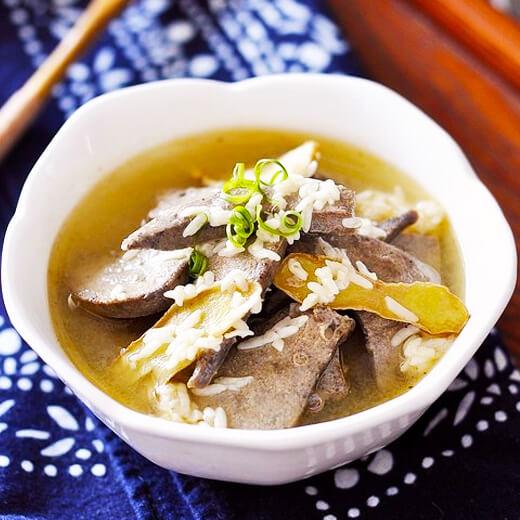 银牙猪肝汤