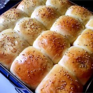 红豆馅小面包