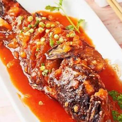 泡菜煨石斑鱼