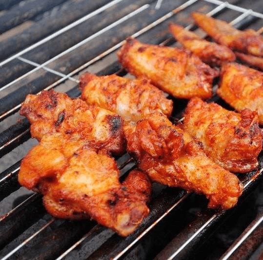 特色美味鲜嫩的韩式烤翅