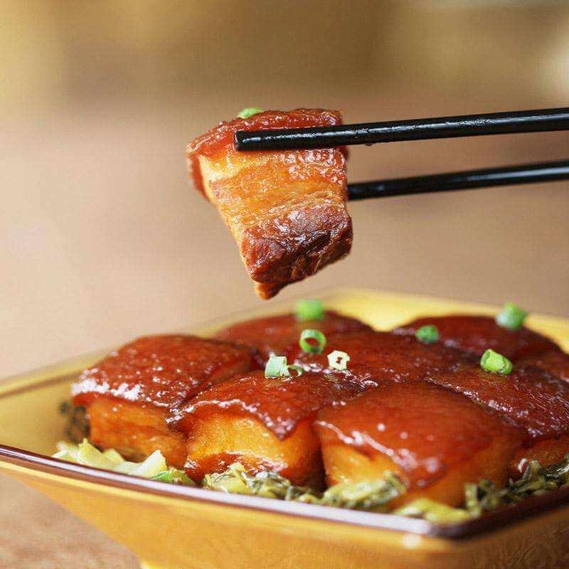 好吃的咸香红烧肉
