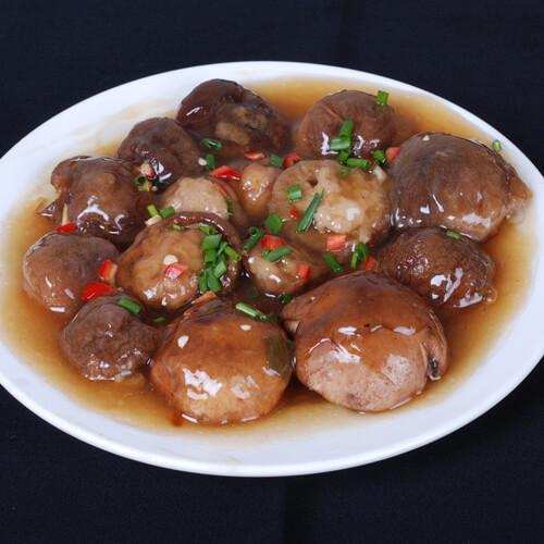 好吃的鲜香菇酿肉