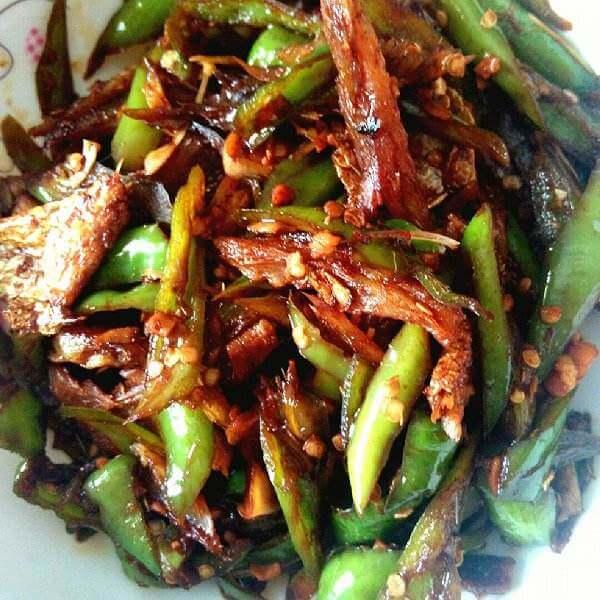 青椒烧鱼块
