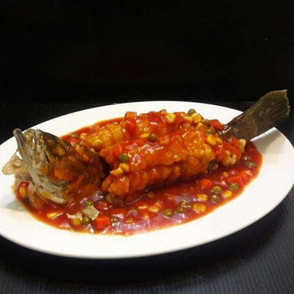 炖糖醋鲤鱼
