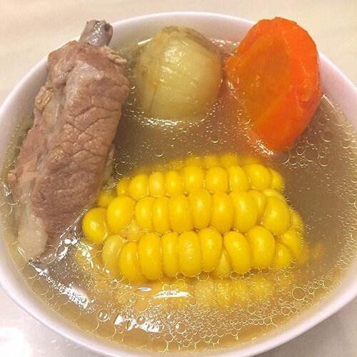 薏米竹芋脊骨汤