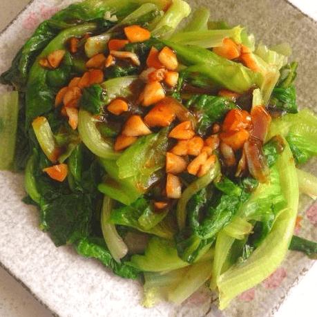 蒜泥蚝油生菜
