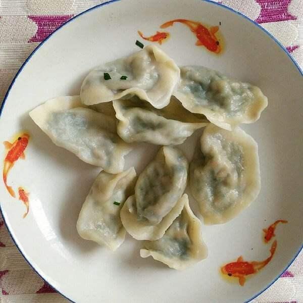 南瓜豆腐水饺