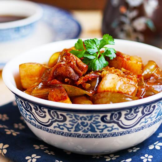 酸菜炖猪肉