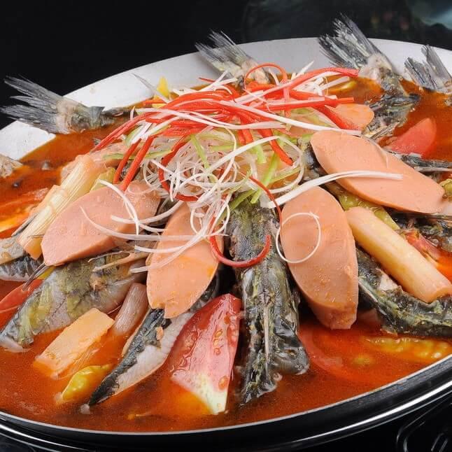 好喝的西红柿番茄黄甲鱼汤
