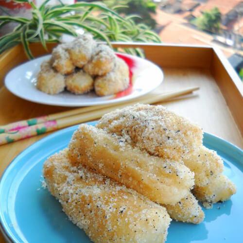 武汉小吃之酥饺