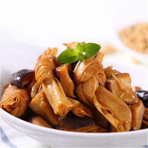 美味腐竹香菇烩土豆