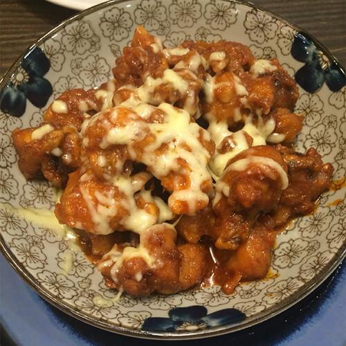 韩式奶酪炸鸡