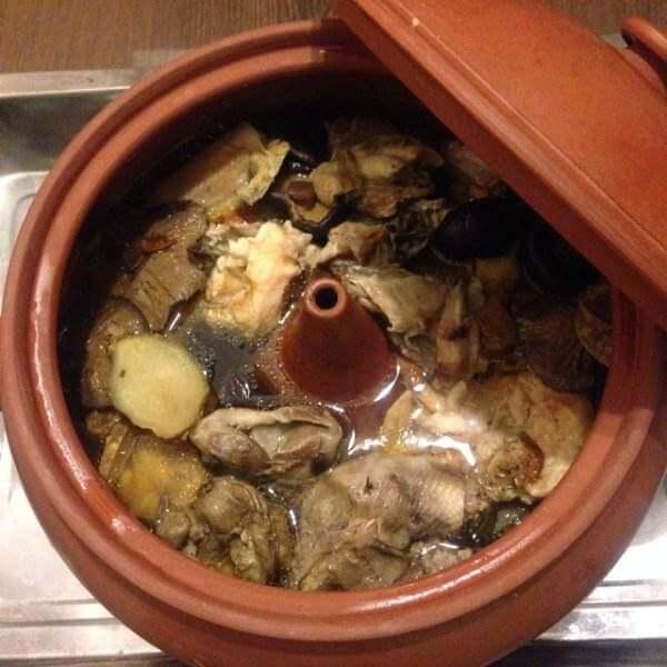 天麻养生汽锅鸡