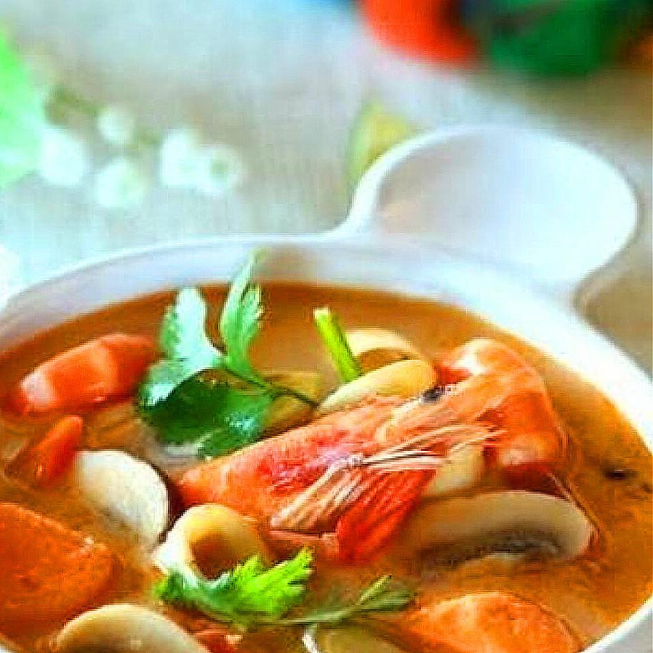 海鲜蘑菇汤