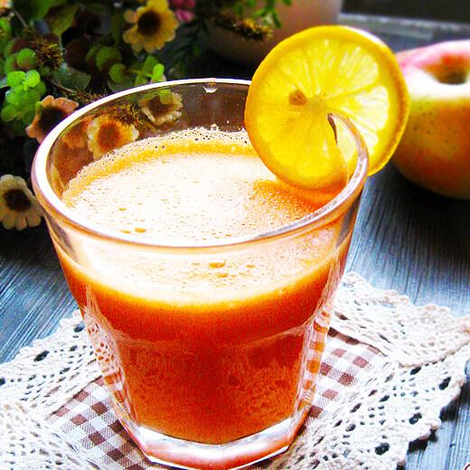 解暑柚子梨胡萝卜汁