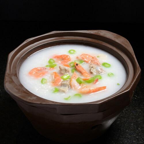 砂锅排骨粥