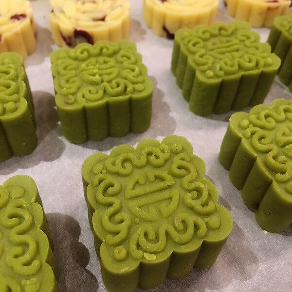 美味简单绿豆糕