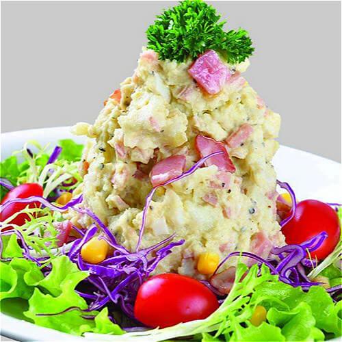 营养美味的土豆蛋沙拉