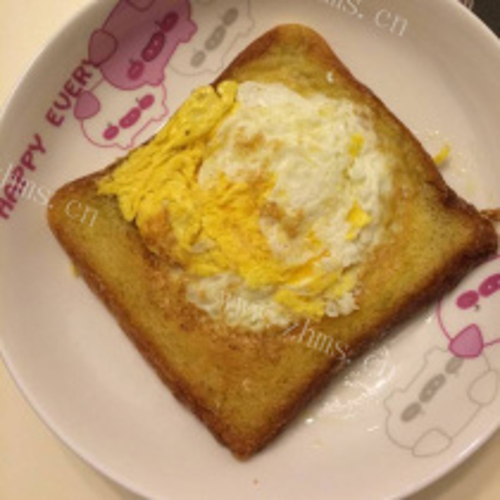 美味吐司荷包蛋