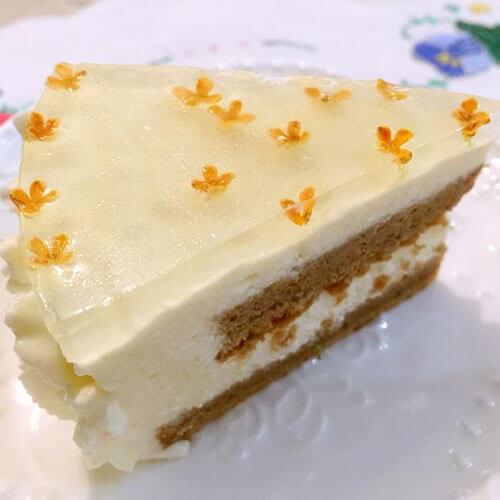 桂花葡萄干蛋糕