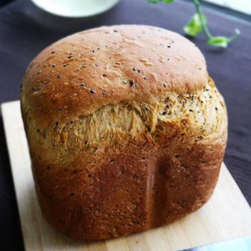美味的红糖酥皮养生面包