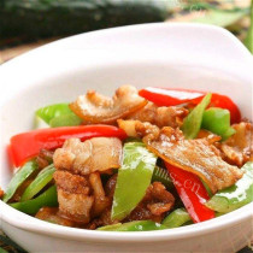 辣椒炒土猪肉