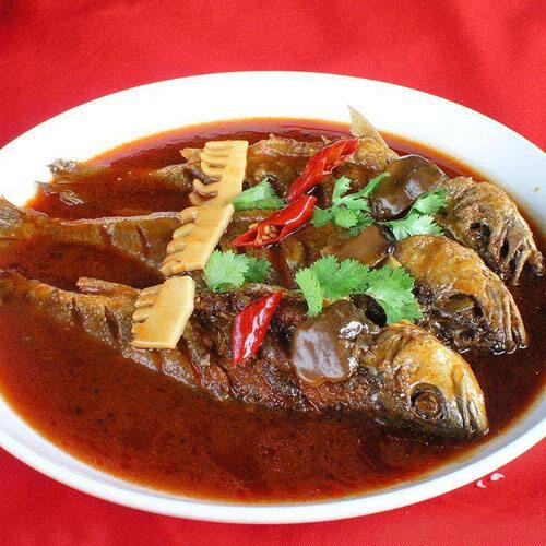 乌梅汁黄鱼