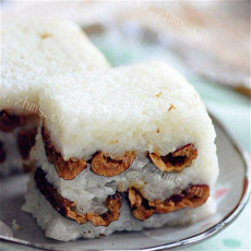 软糯糯米粉小枣切糕