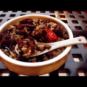 豆豉蒸腊鸭