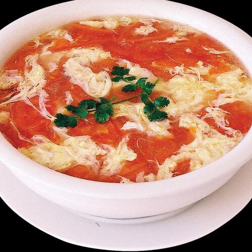 番茄金针蛋汤