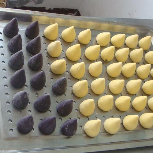 蒸窝窝头紫薯包