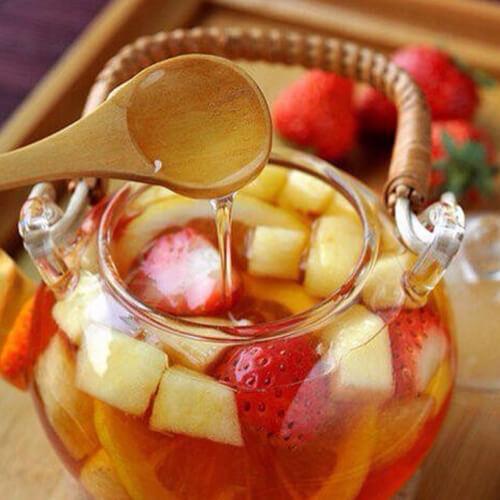 爽口的泡水果