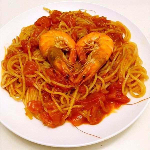 家常番茄烩海虾