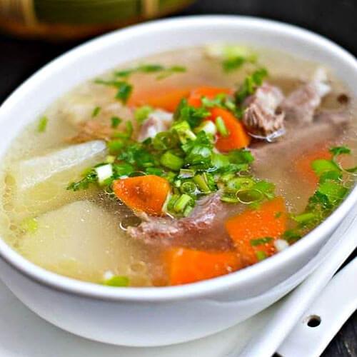 红白萝卜羊肉汤