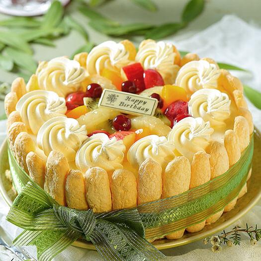 手指水果蛋糕