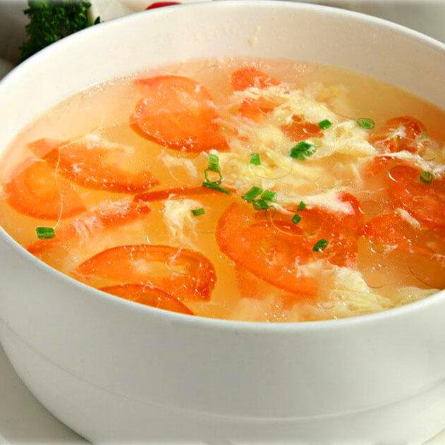 美味西红柿鸡蛋汤粉